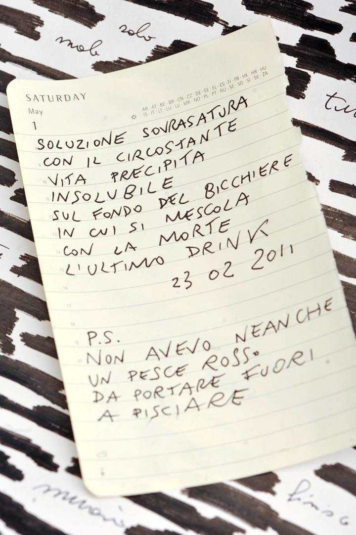 suicide note. suicide note # 02 - scritta